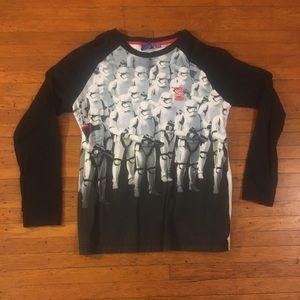 Adidas Star Wars Storm Trooper Baseball Shirt